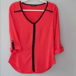 Pink Grass Collection Blouse